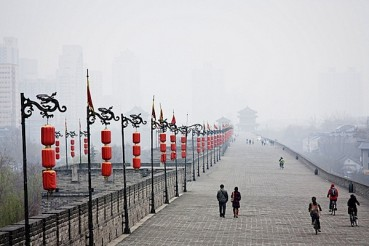 ICH024: Xi'an City Wall Bicycle Ride