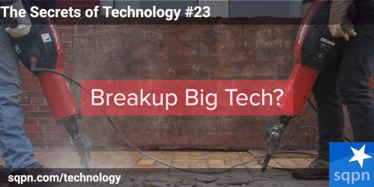 Breakup Big Tech?