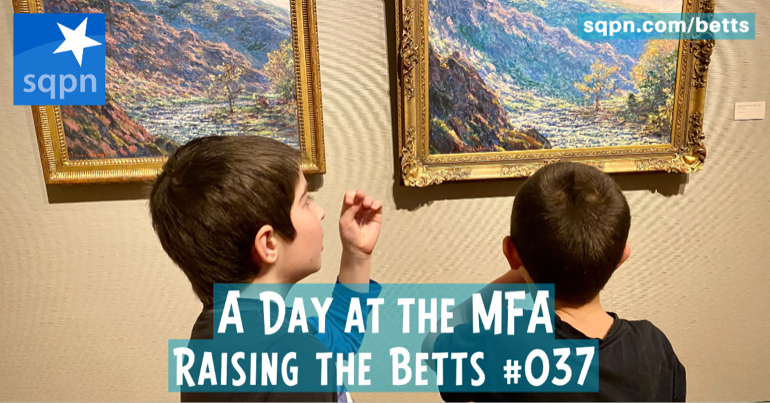 A Day at the MFA