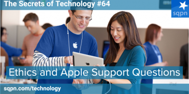 Ethics and Apple Support Questions