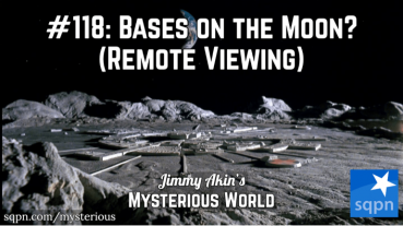 Alien Moon Bases & Remote Viewing (Ingo Swann's Penetration)